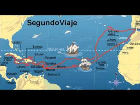 Los 4 viajes de cristobal colon youtube for Cuarto viaje de colon