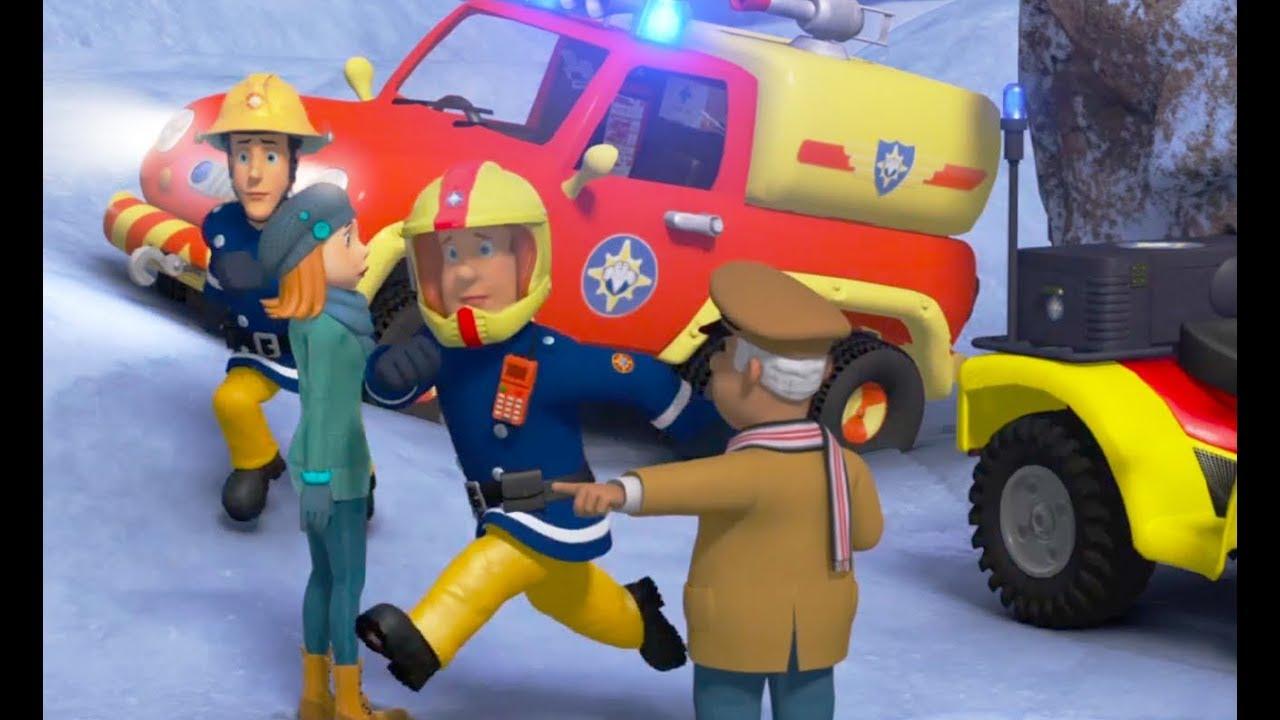 Nouveau sam le pompier sam sauve le train de no l pisode sp cial no l dessin anim youtube - Dessin anime de pompier sam ...