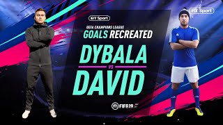 UCL Goals Recreated: Paulo Dybala