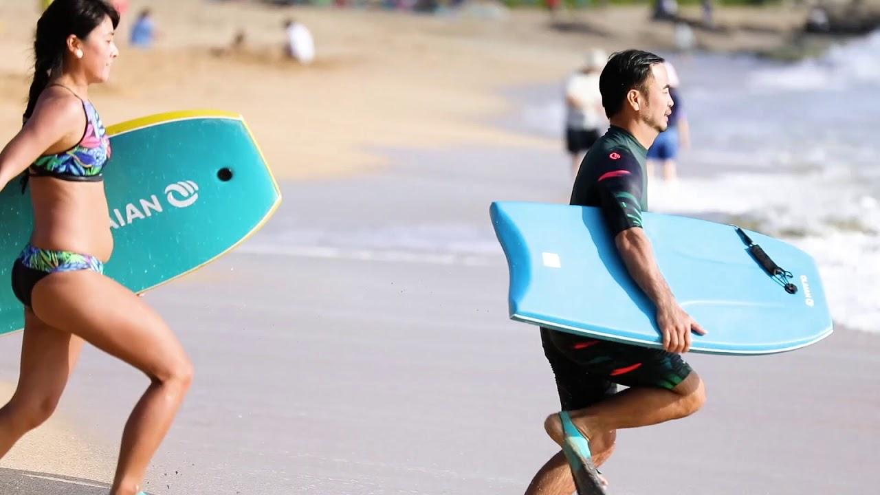 [迪卡儂] Olaian 衝浪運動品牌 認識趴板 趴板運動 - YouTube