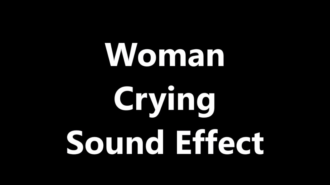 All Sound Effects: woman sound effects