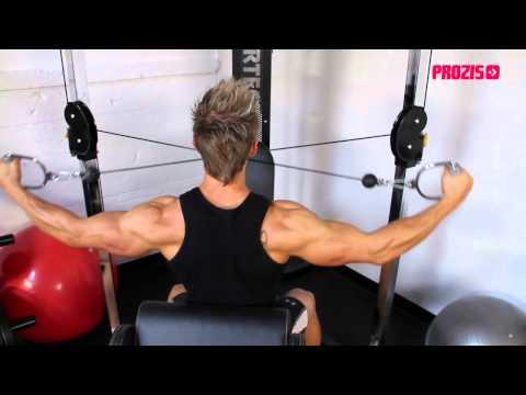 Cable Shoulder Workout