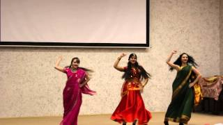 Коллектив Аниты Дхар - Индийский танец