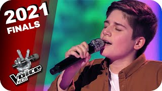 Kelly Clarkson - Because Of You (Papuna) | The Voice Kids 2021 | Finals
