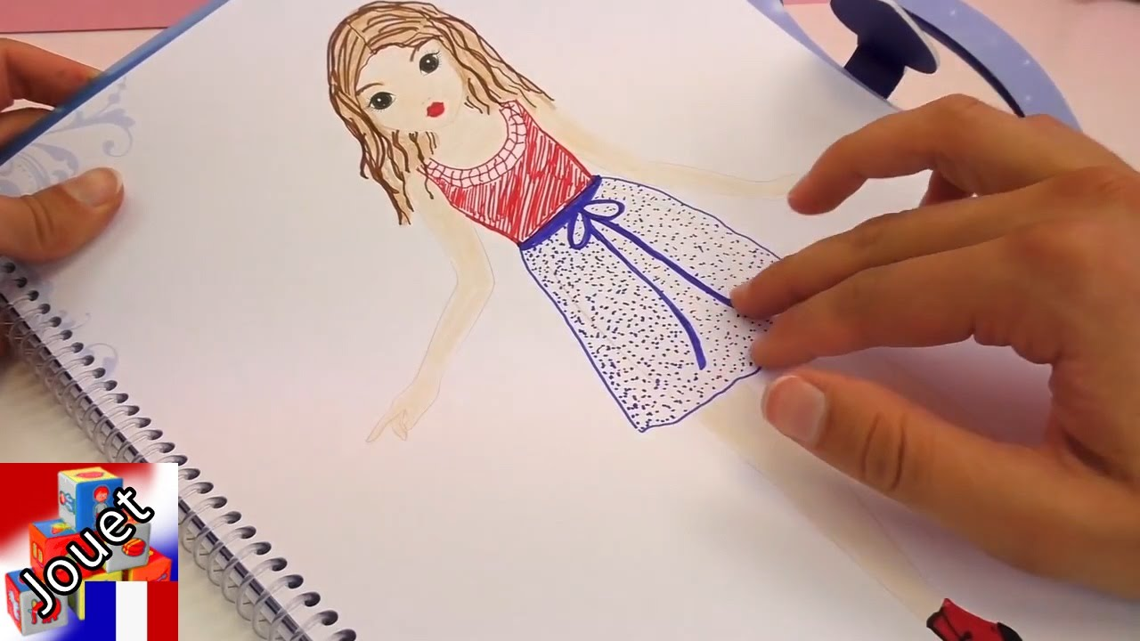 Mode Top Model Coloriage Fille.Apprendre A Dessiner Violetta Le Livre Top Model A Colorier De Violetta