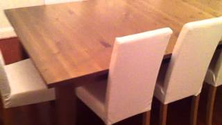 Ikea Dining Table Set Assembly Service Video In Baltimore Md By Furniture Assembly Experts Llc