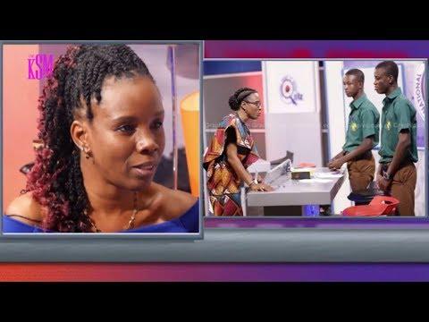 KSM Show- Dr Elsie Effah Kaufmann and Prof Akosua Adomako Ampofo hanging out with KSM part 1