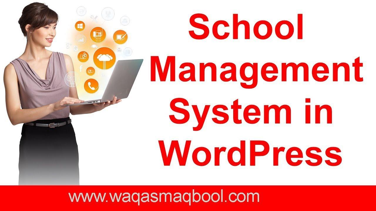 How to install school management wordpress plugin