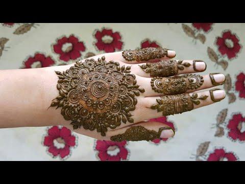 Heavy Mandala Henna Design 4 Henna Design For Eid 2017 Youtube