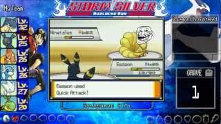 ★ Pokemon Storm Silver Nuzlocke Run ★ Part 13-First Battle With Lyra