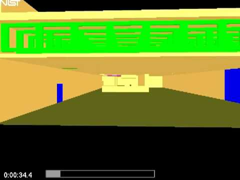 Simulation of the Dynamics of a Fire in a One-Story Restaurant -- Texas