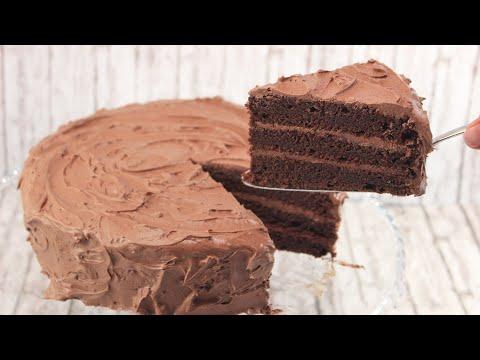Chocolate Layer Cake I Saftige Schokotorte Mit 3 Schichten Youtube