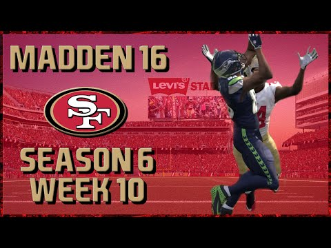 Madden 16 Franchise: San Francisco 49ers | Y6, W10, Shootout at the Link!! | 1080p60FPS