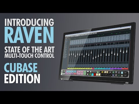 RAVEN - Multi-Touch Control Surface For Steinberg CUBASE & NUENDO