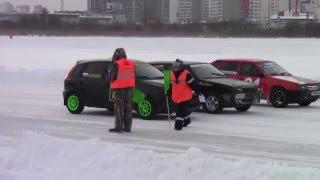 Ледовые гонки г.Тюмень 16.01.2016г.