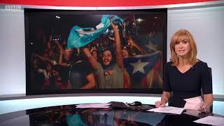 Reporting Scotland bizarre intro