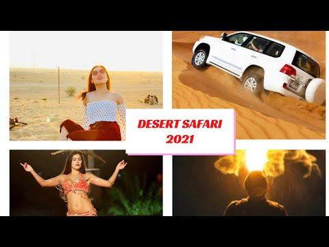 Desert Safari Dubai 2021 || Belly Dancing || Fire Show || Buffet Dinner || Janice Vlogs