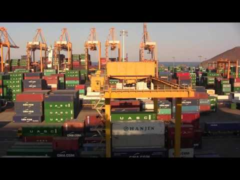 KHOR FAKKAN (UAE) CONTAINER TERMINAL by Andy Orlowski