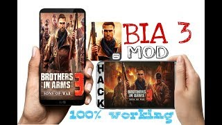 how to download hack of bia 3/ brother in arms 3/100% working/no  crash/problem fix/by gaming guruji