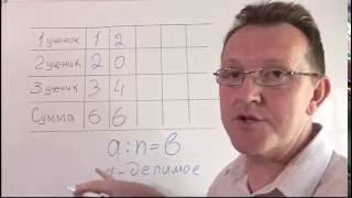 Делители Математика 6 класс