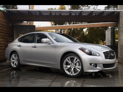 2013 Infiniti M37 Start Up and Review 3.7 L V6