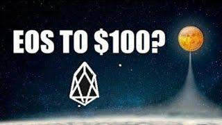 Eos crypto  to $100 . It feels like its likey 2025. Hodl blockchain