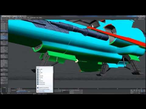 Rigging in LightWave: Using Cyclist To animate Landing Gear