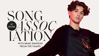 Brad Simpson Sings Little Mix, John Mayer, and The Vamps in a Game of Song Association | ELLE