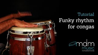 Funky conga rhythm - Free lesson