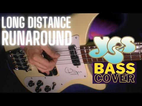 YES - Long Distance Runaround [bassline / bass cover]