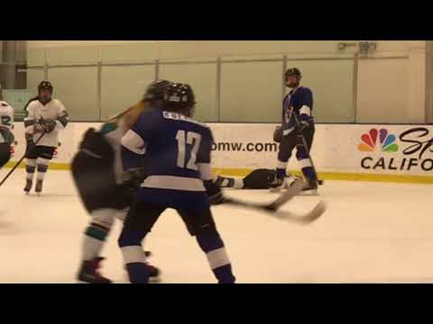 Hockey Game Highlights #2: Stockton Fighting Squirrels vs San Jose Jr. Sharks