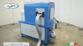 Gambar cover CN SPRINT MINOR - Automatic machine for microdrilling metal tape - OPM STAMPI