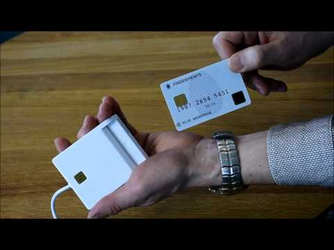 Fingerprints - Smart Card demo with contact chip