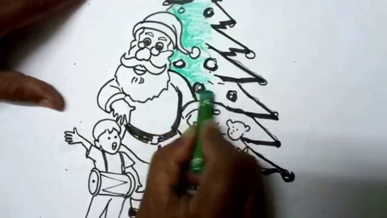 How to Draw Christmas Pictures - Easy Drawing - YouTube