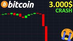 BITCOIN CRASH ET 3.000$ EN VUE !? btc analyse technique crypto monnaie