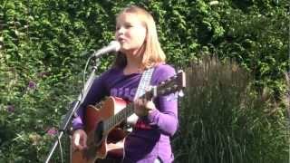 Nikki (11) is playing 'Across The Nile' (Amy MacDonald)