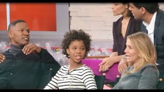 Entire ANNIE Movie (2014) Cast interview on Good Morning America: Quvenzhané Wallis Jamie Foxx