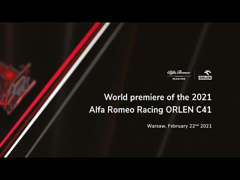 Alfa Romeo Racing ORLEN C41 Launch