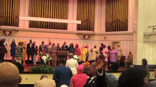 "Praise Break ""For every Mountain"" - James Hall 2014 Resurrection Concert"