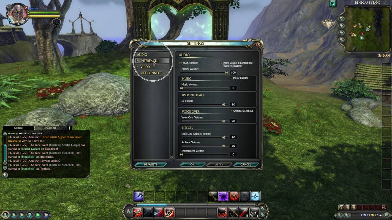 How To Enable Use Raid Frames For Parties In Rift - YouTube