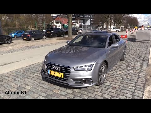 Audi A7 2017 Start Up, Drive, In Depth Review Interior Exterior