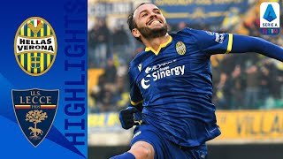 Hellas Verona 3-0 Lecce | Verona on Target with 3-Goal Win Against Lecce! | Serie A TIM