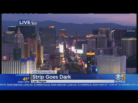 Las Vegas Strip Goes Dark As Nevada Orders Shutdown Of Casinos Over Coronavirus