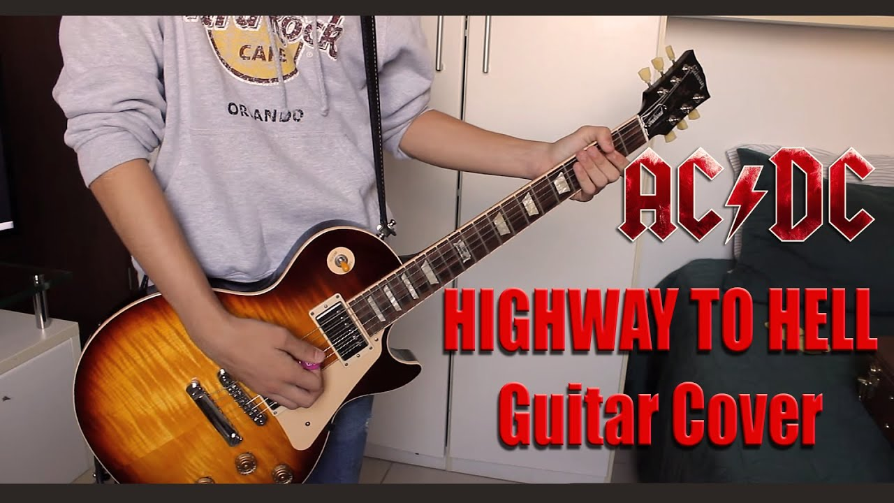 highway to hell guitar cover by rivando guilherme youtube. Black Bedroom Furniture Sets. Home Design Ideas