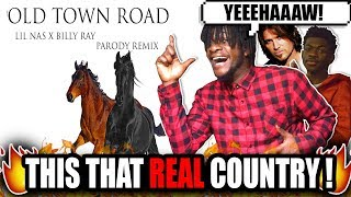 Lil Nas X & Billy Ray?! | Lil Nas X - Old Town Road (feat. Billy Ray Cyrus) [Remix] REACTION!
