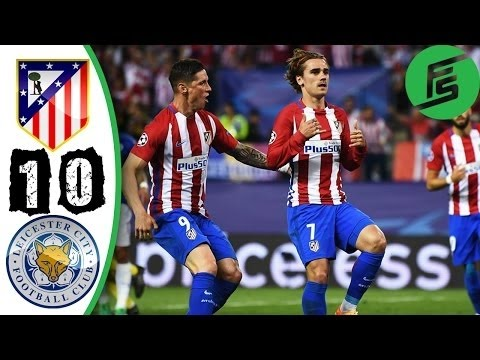 Atletico Madrid vs Leicester City 1-0 - Gol & Highlights 12/04/2017 HD