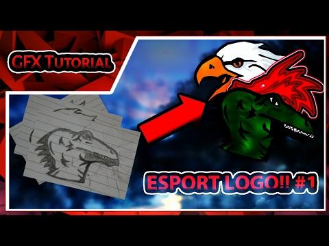 Cara Membuat Esport Logo Untuk Squadmlaovvgmore How To Make A Mascot Esport Logo From Mobile