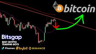 BITCOIN PULLBACK BEFORE POSSIBLE BIG BREAKOUT!! IMPORTANT TA!!