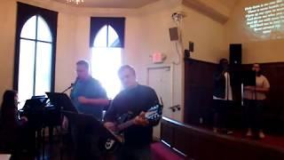 """Build My Life"" (Housefires cover) KyleUMC Praise Band 1/20/19"