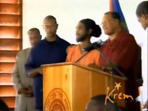 Farrakhan and his love for the people!....Speaking at a prison in Belize